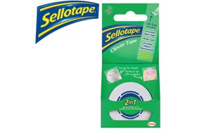 SELLOTAPE CLEVER CLEAR 18mmx25m
